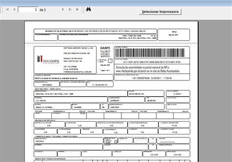 layout xml nota fiscal eletronica benef 237 cios