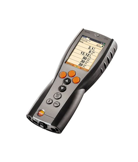 a testo testo 350 portable emission analyzer emission
