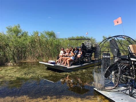 sw boat everglades air boat miami airboat in everglades