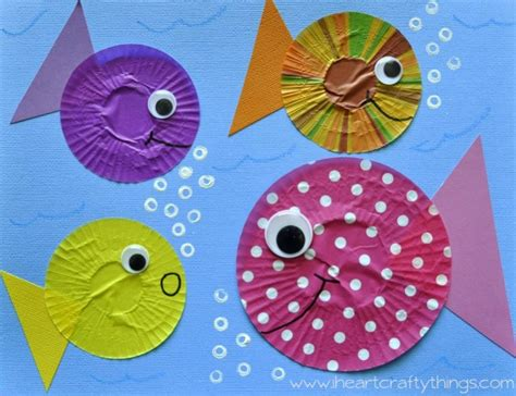 fish pattern for kindergarten fish theme activities for kids fantastic fun learning