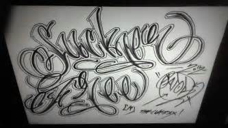 15 chicano gangsta script font images gangster tattoo