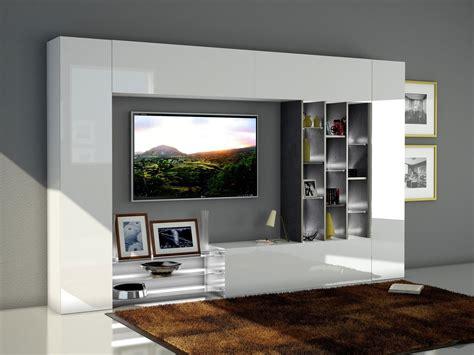 parete tv soggiorno soggiorno moderno torino porta tv bianco composizione parete