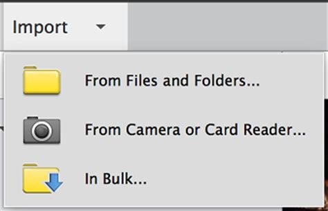elements organizer help | importing media from cameras and
