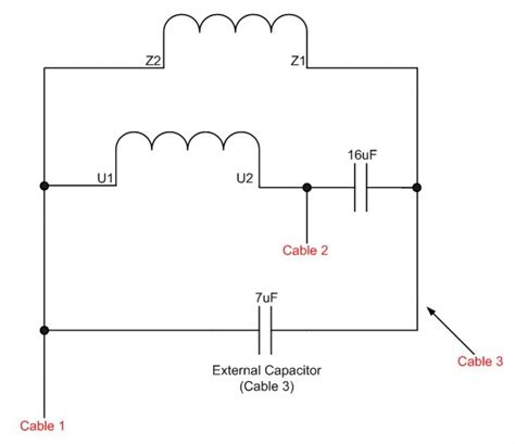 leeson single phase capacitor wiring diagram wiring