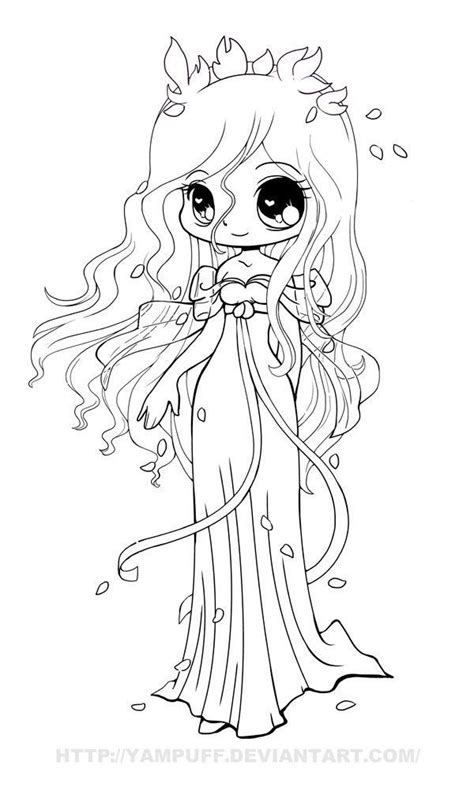 cute manga coloring pages cute anime coloring pages part 7 anime chibi girl