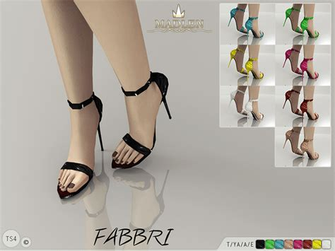 sims 4 shoes the sims resource mj95 s madlen fabbri shoes