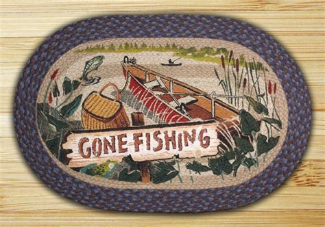fishing rug earth rugs fishing