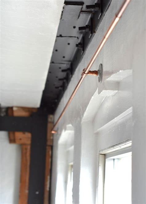 curtains on rails best 25 copper curtain rod ideas on pinterest copper