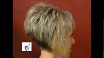medium wedge hairstyles back view short hair wedge haircut photos back view short