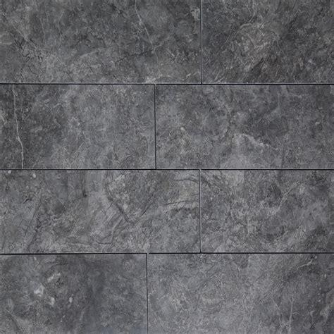 Gray Kitchen Backsplash 4 x 12 tile dark grey marble polished