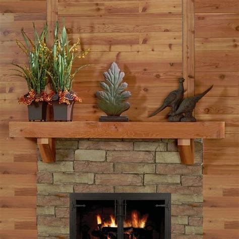 mantel on fireplace create a rustic style on your fireplace with cedar mantels