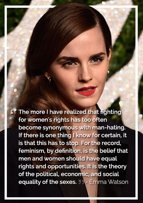 emma watson quotes feminism the most badass inspiring celebrity quotes about feminism