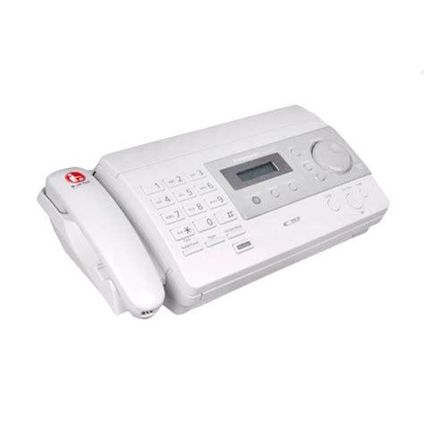 Mesin Fax Panasonic Kx Ft933 jual panasonic kx ft 501 mesin fax white harga kualitas terjamin blibli