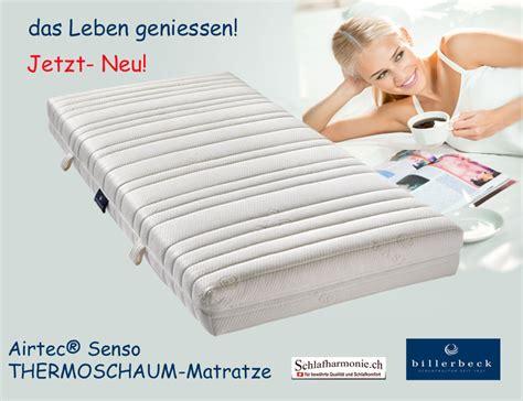 günstige matratzen 90x200 härtegrad 3 das leben geniessen airtec 174 senso thermoschaum