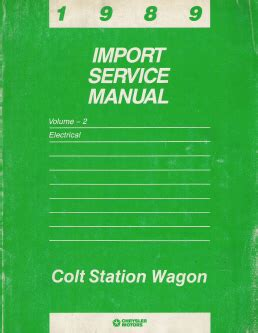 car maintenance manuals 1989 dodge colt security system service manual best auto repair manual 1989 dodge colt parking system service manual 1994
