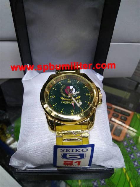 Jam Tangan Custom Tengkorak2 Logo Keren jam tangan paspres besi stainless spbu militer