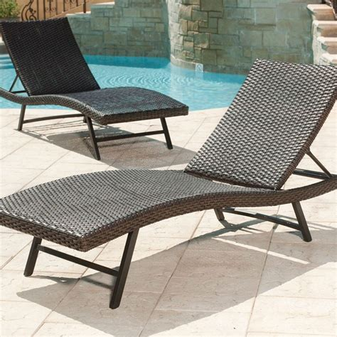 Furniture Aluminum Outdoor Chaise Lounges Patio Chairs Outdoor Chaise Lounge Sofa