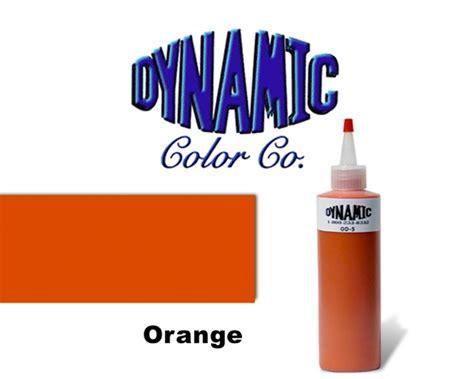 orange dynamic colors tattoo inks worldwide tattoo