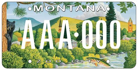Garden City Property Management Missoula by New Quot Zoo City Quot License Plate Provides Youth Recreation Grants