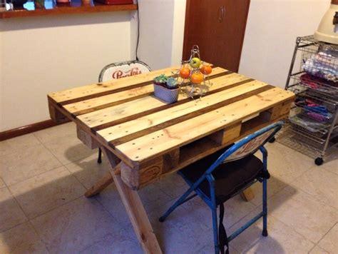 mesa comedor picnic  pers  exterior de madera reciclada  en mercado libre