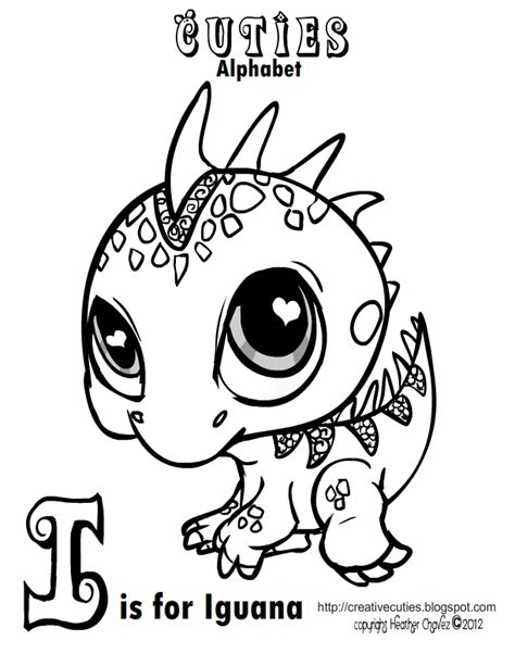 Quirky Artist Loft Cuties Free Animal Coloring Pages Pet Shop Coloring Pages