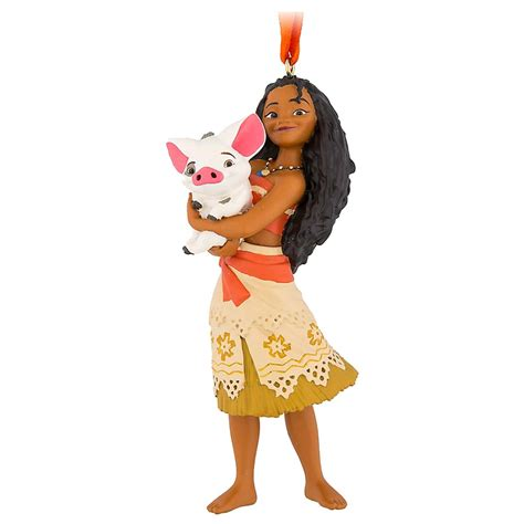 disney moana waialiki ornament disney figure ornament moana with pua