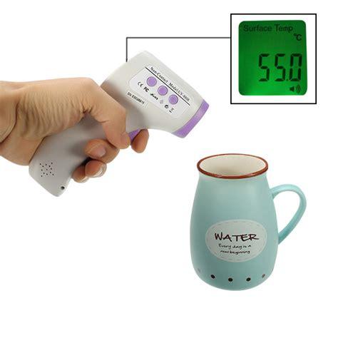 Termometer Infrared Uv 8808 Tqf8t original uv 8808 non contact infrared digital thermometer multi purpose temperature