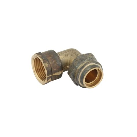 Kinetic Plumbing by Kinetic 20fl X 20fi Brass Flared Compression
