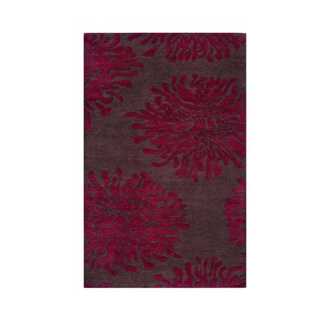 brunswick rug home decorators collection brunswick brown 2 ft 6 in x 4 ft 6 in area rug 0004800820 the
