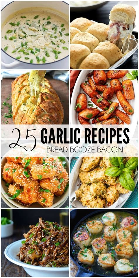 the power of garlic top 25 garlic recipes with garlic garlic soups dressing with garlic sauces marinades with garlic your 100 immunity books 25 garlic recipes bread booze bacon