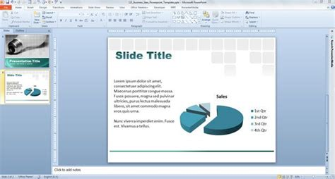 business idea presentation template free business idea powerpoint template free powerpoint