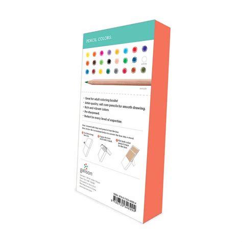 premium colored pencils galison premium colored pencil set 24 pencils paperme se