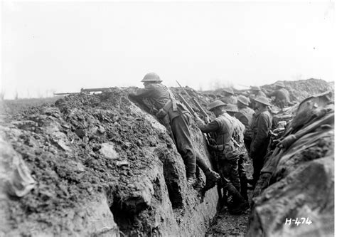 In The Trenches by In The Trenches On The Western Front Nzhistory New