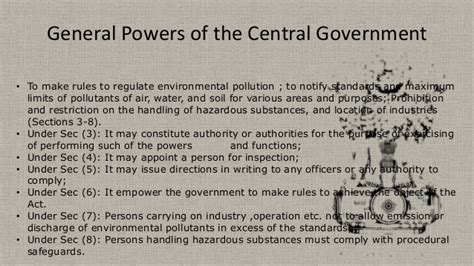 the ottoman central government appointed officials called environment management in mines env act 1986