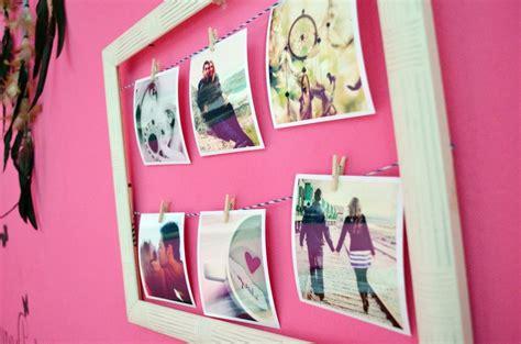 decorar tu habitacion diy diy decora tu habitaci 243 n con fotos manualidades