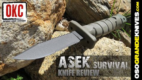 us army combat knife ontario asek us army survival knife system review