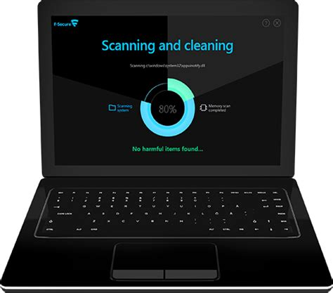 scan computer f secure scanner scan and clean your pc for free