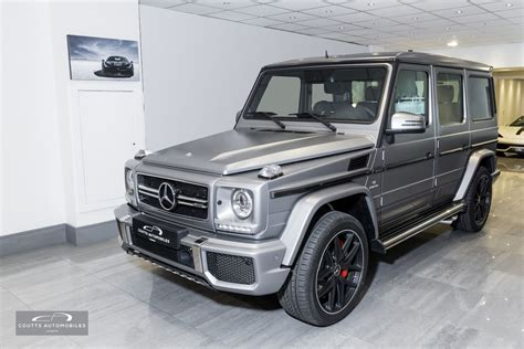 Mercedes Amg G63 by 2016 Mercedes Amg G63 463 Edition Coutts Automobiles