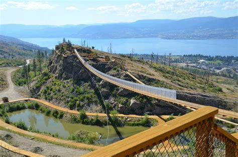 The Bridge Detox Centre Kelowna by Largest Suspension Bridge Ponds View Of Lake Okanagan