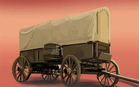 How To Make A Paper Wagon - how to make a pioneer wagon 6 steps with pictures wikihow