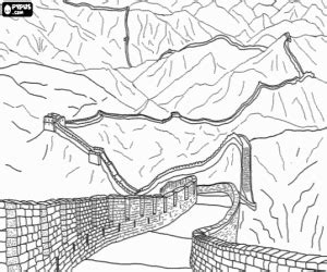 monuments and other sights in asia coloring pages