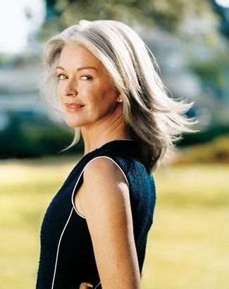 gray hair for 54 year old women 43 best images about beautiful women in their 50 s on