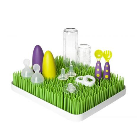 Baby Grass Drying Rack by Boon Baby Bottle Drying Rack Accessories Lime Tree