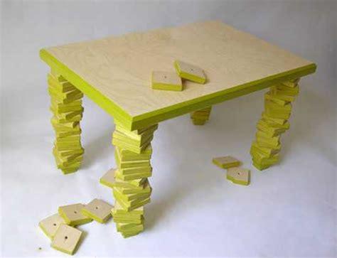 unique diy table legs 11 unique furniture design ideas fixing modern tables with broken legs
