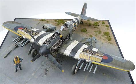 wallpaper scale models aircraft models ships figures dioramas hawker typhoon mk ib airfix 1 24 scale by mike garamond diorama modellbau