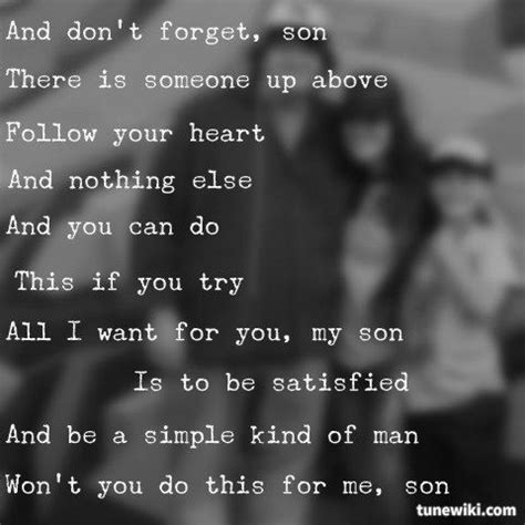 lynyrd skynyrd love quotes be a simple kind of man by lynard skynard love this song