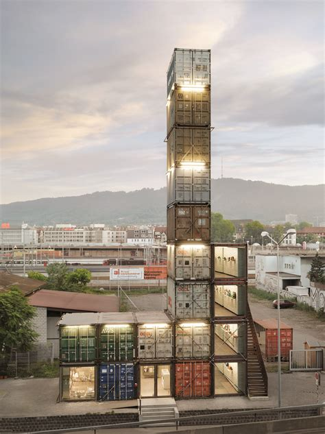 art design zurich f store zurich freitag store made of shipping containers