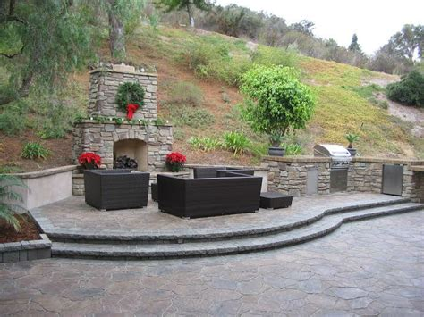 Outdoor Fireplace San Diego by Photo Gallery Outdoor Kitchens Rings Gardens