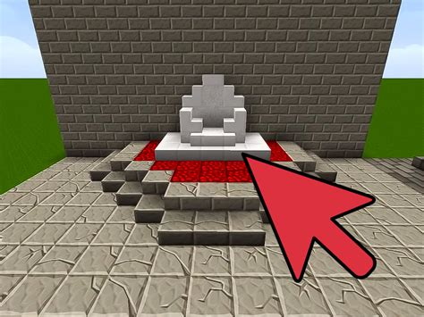 how to build and how to build a throne on minecraft with pictures wikihow