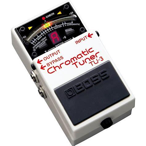 Tuner Tu3 Chromatic Tuner Tu 3 Tu 3 Tu 3 Chromatic Pedal Tuner Musician S Friend
